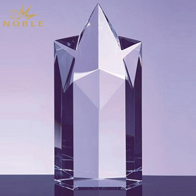 Hot Sale Crystal Super Star Tower Trophy