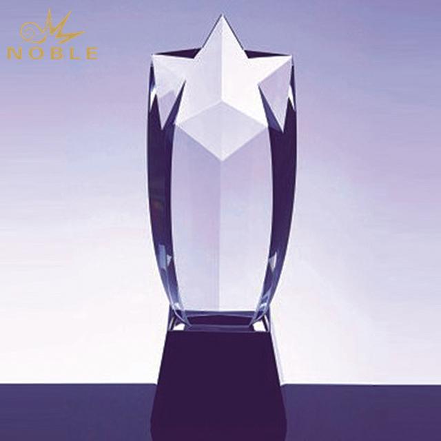Hot Sale Crystal Rising Star Award