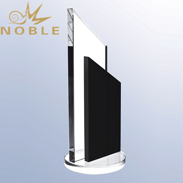 Noble Black Crystal Plaque for sale