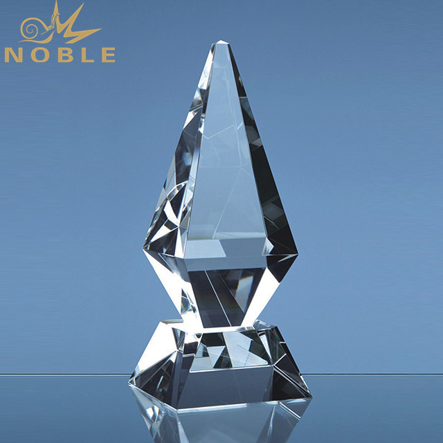 K9 Crystal Iceberg Shape Trophy