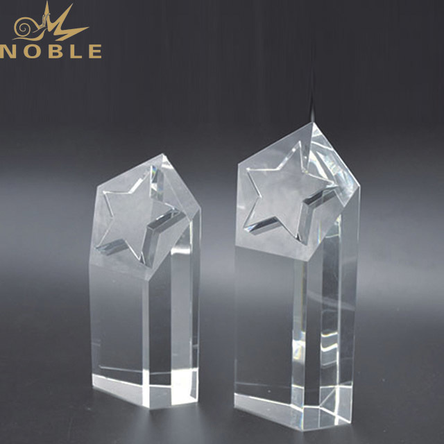 2019 Wholesale Optical Business Crystal Glass Awards Corporate Awards Crystal Trophy