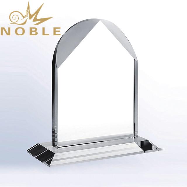 Noble Crystal House Shape Blank Crystal Award