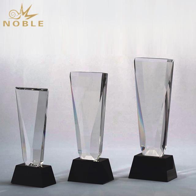 Blank K9 Crystal Plaque Trophy For Souvenir