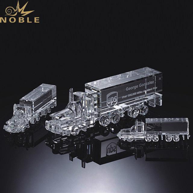 New Designed Crystal Award K9 Crystal Trophy Truck