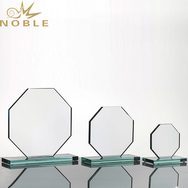 2019 Noble Wholesale Crystal Blank Shield Award Diamond Shape Crystal Awards