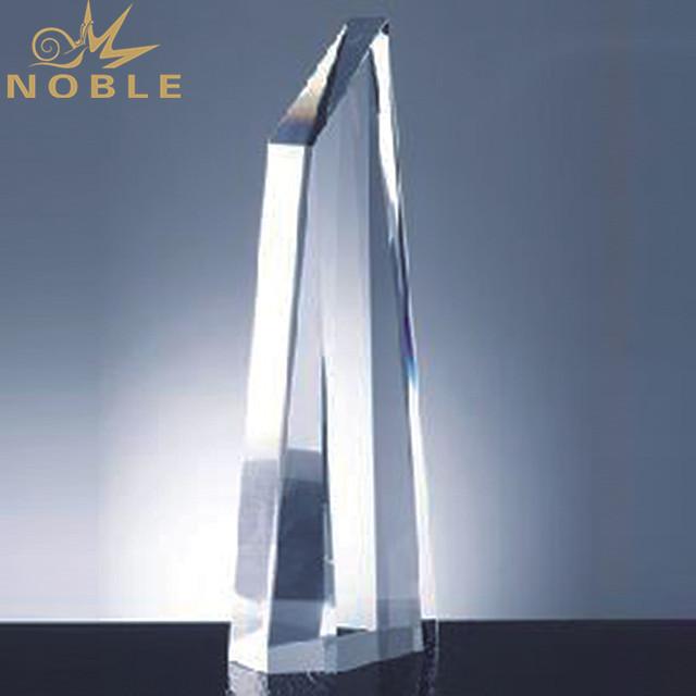 Custom Crystal Trophy Award Plaque Art Craft