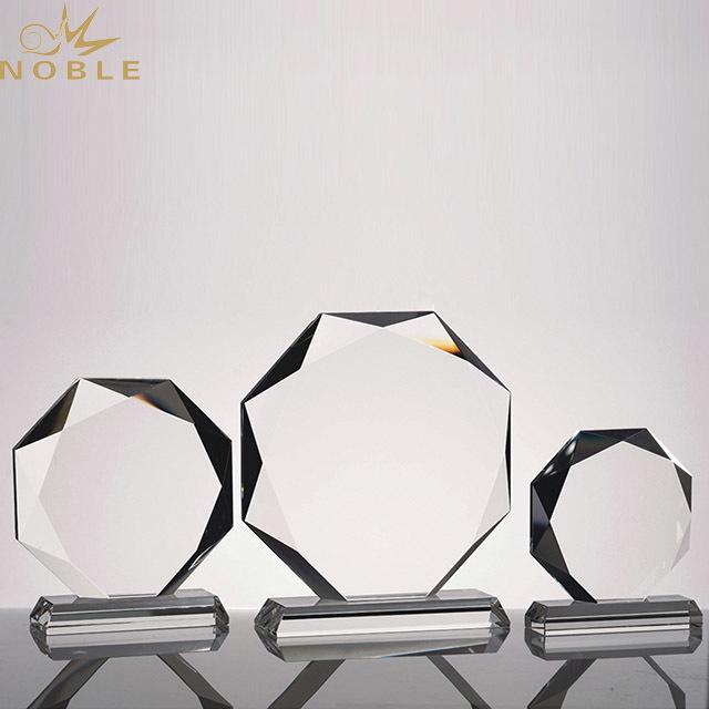 2019 Noble Art Style High Quality Business Custom k9 Crystal Award Trophy