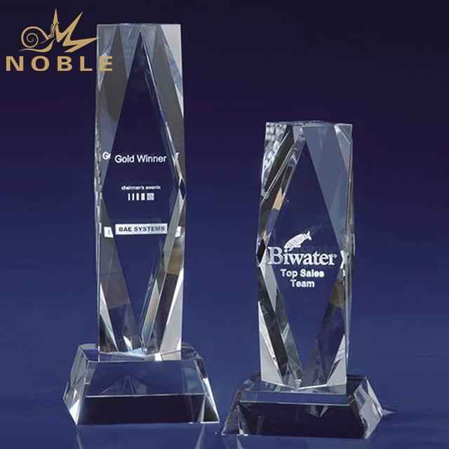 High Quality Crystal President Award Tower