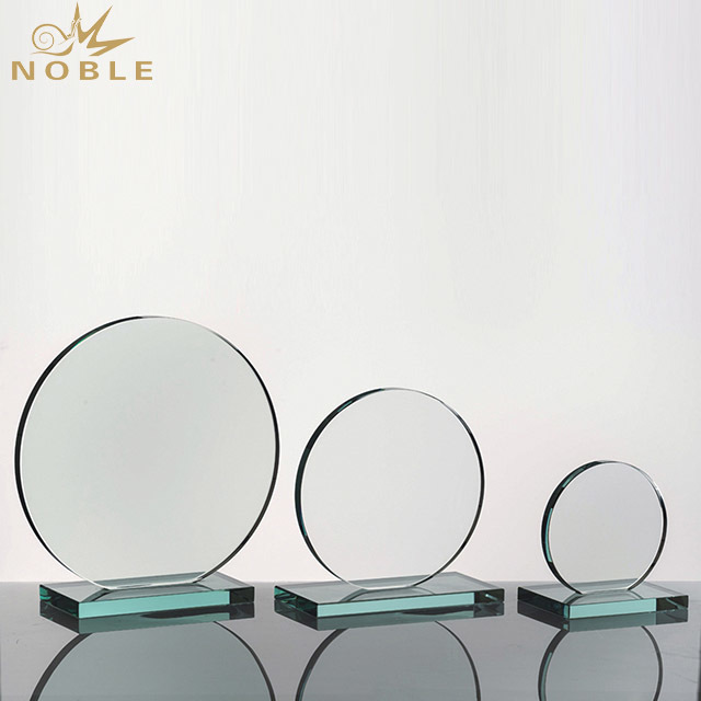 2019 Noble Crystal Trophy Award Plaques Glass As Islamic Souvenir Gifts