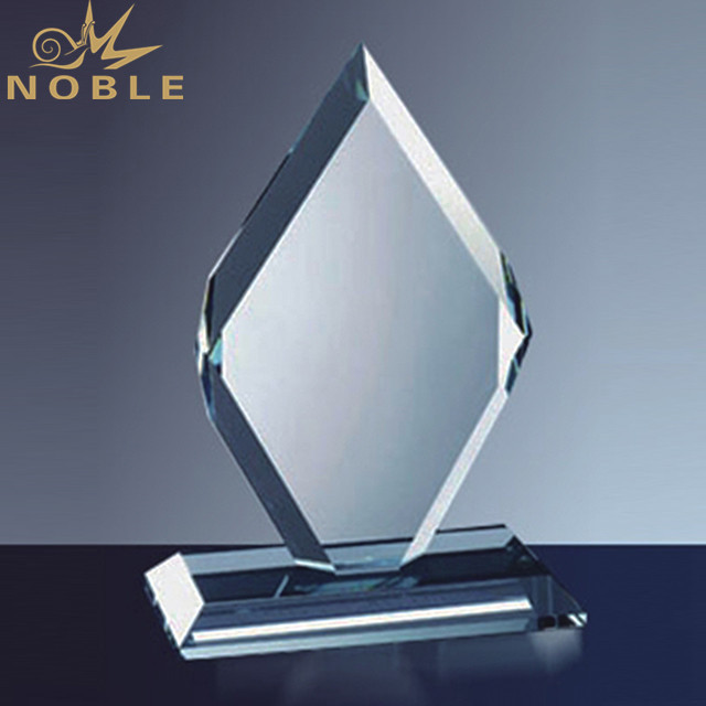 Blank Paperweight Plaque Crystal Trophy