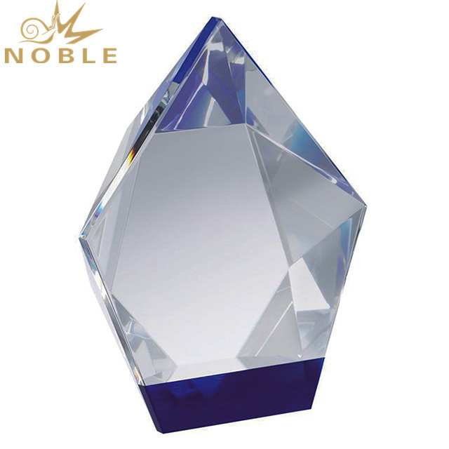 Crystal Diamond Trophy Customized for Award Gifts