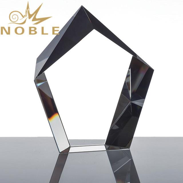 Free engraving Crystal block trophy