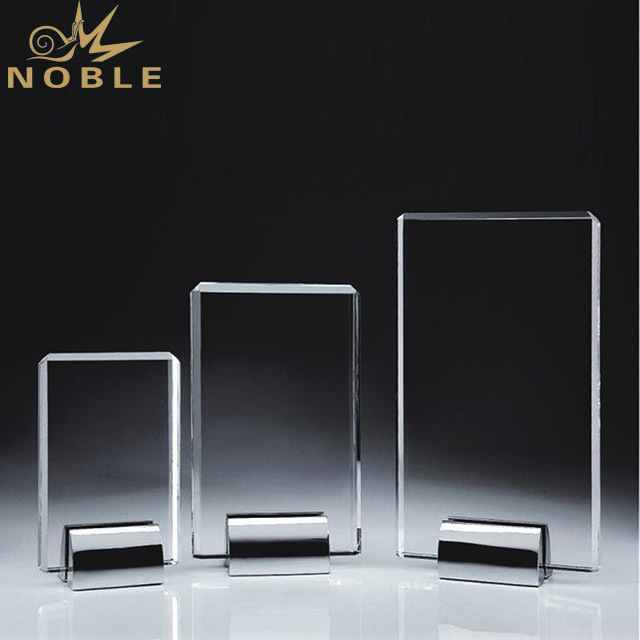 2019 Noble Custom Retail Blank Clear Crystal Awards And Trophy in China