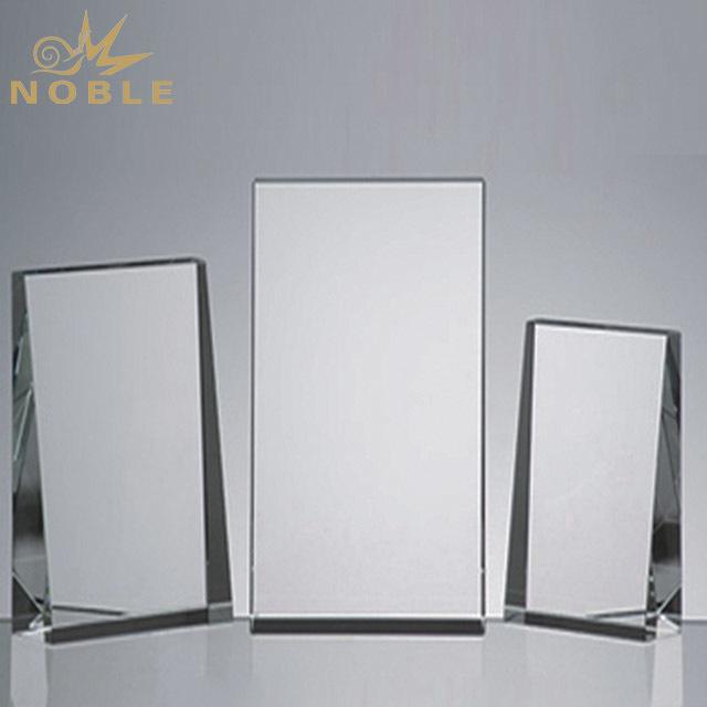 2019 Noble Best Price Custom Blank K9 Crystal Glass Trophy Award