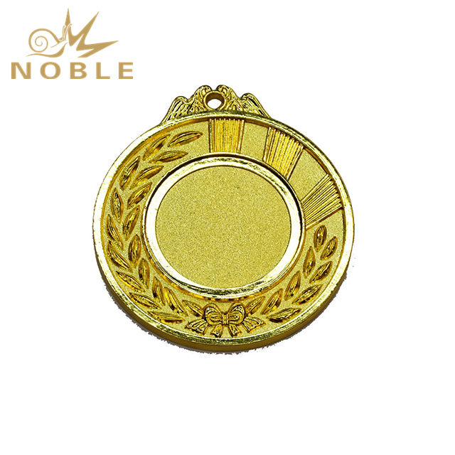 Cheap Customized Blank Gold Metal Medal