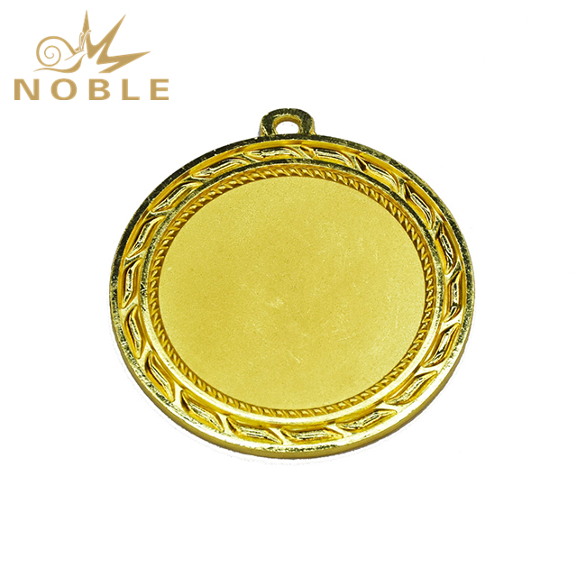 Hot Sale Cheap Blank Gold Metal Medal