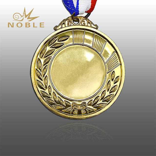 Cheap Blank Gold Medal For Sports Gift