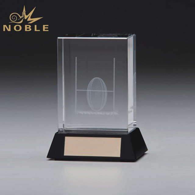 2019 Noble New Product Personalized Customize Blank 3D Laser Crystal Trophy
