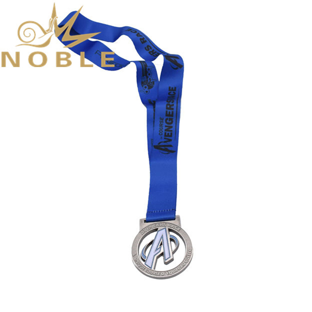 High Quality Die Cast Silver Metal Medal