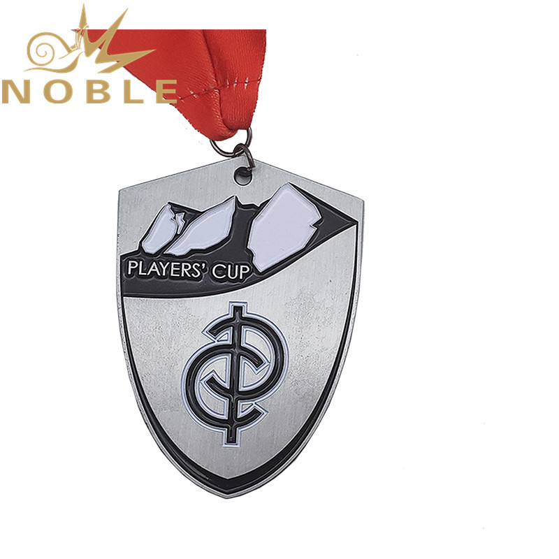 Wholesale Unique design metal shield medal
