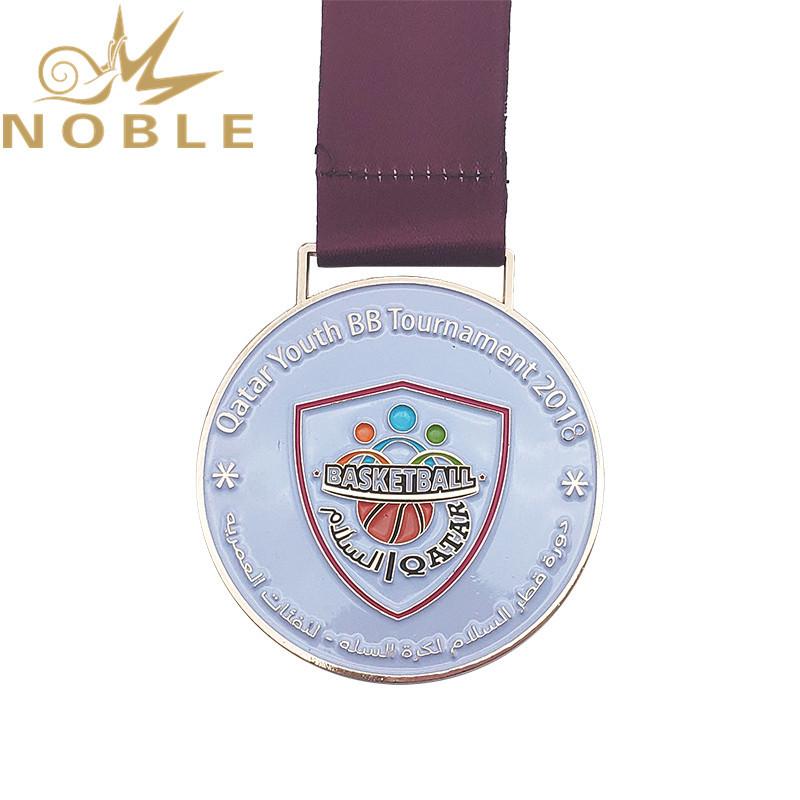 High quality Custom basketball medal