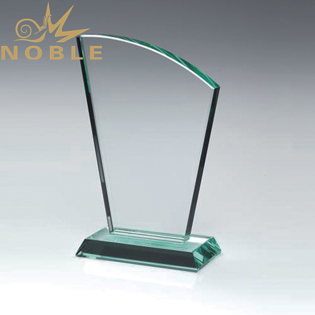 High quality jade glass award blank trophy
