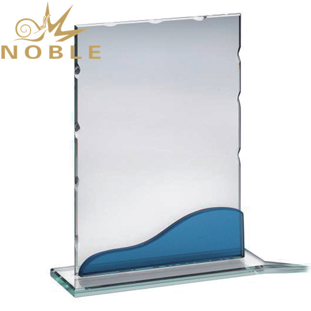 Hot selling Jade glass plaque award