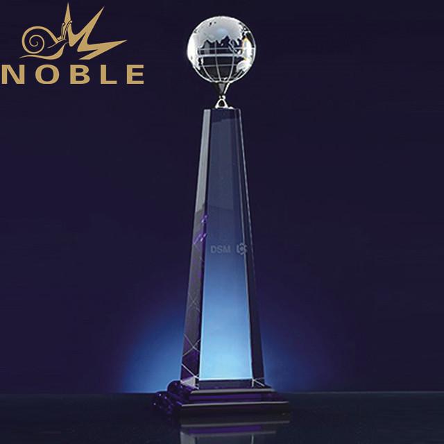 Excellent free engraving custom crystal globe award