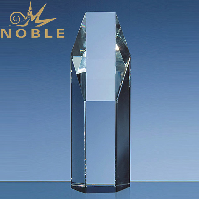 Optical Crystal Hexagon Award