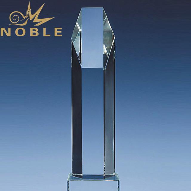Wholesale modern crystal tower trophy