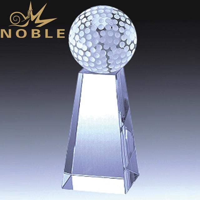 Noble High quality Crystal golf trophy