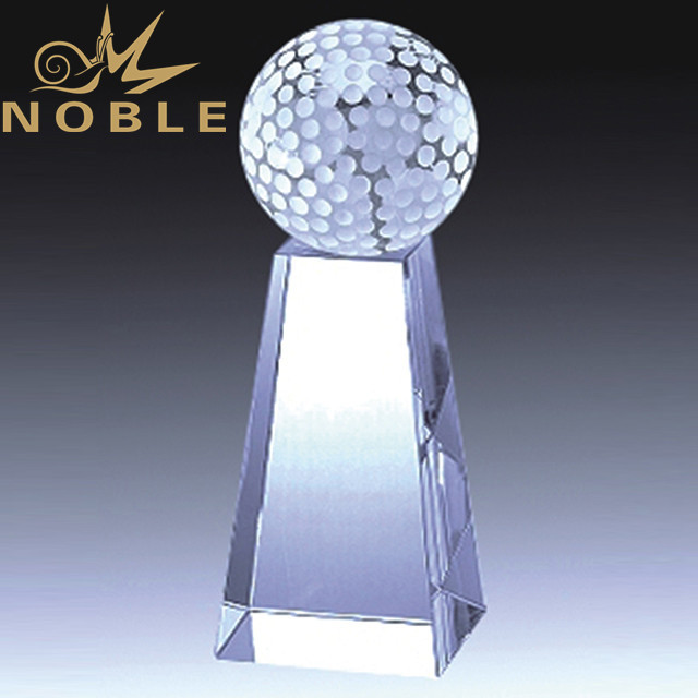 Noble High quality Crystal golf trophy