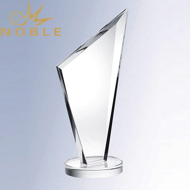 High quality blank crystal plaque trophy