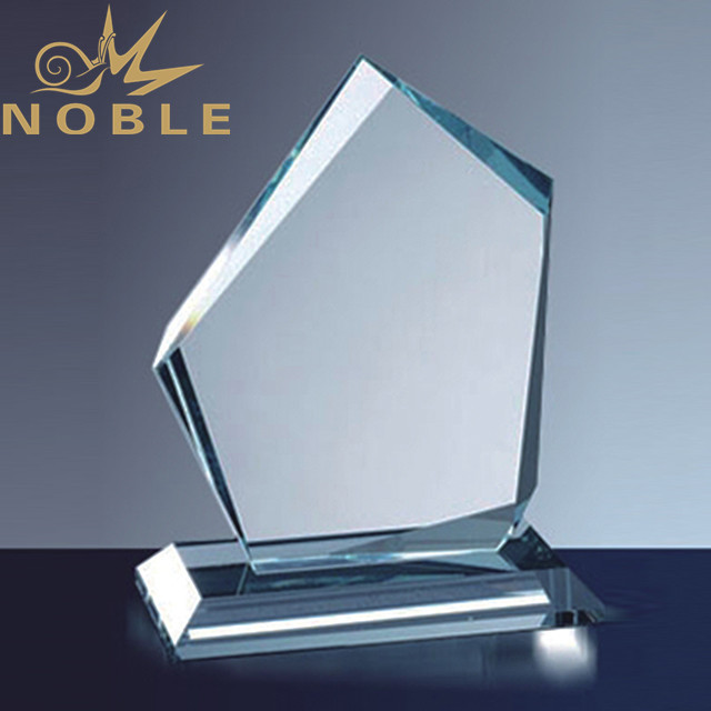 Best Free engraving jade glass plaque