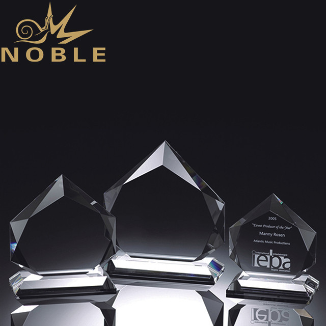Custom made free engraving high quality crystal plaque awards