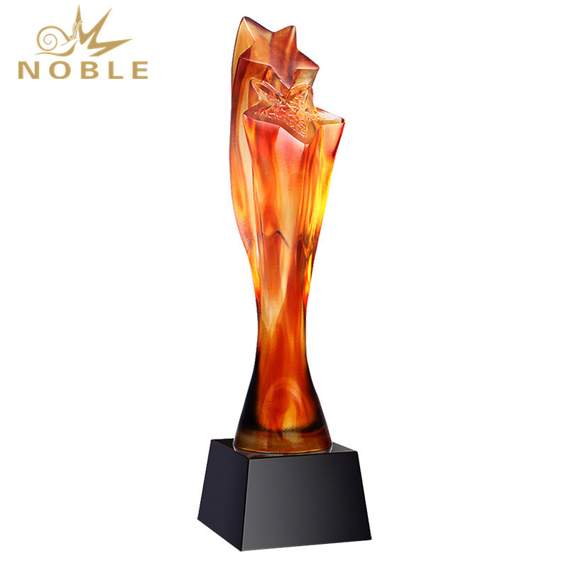 Liuli Super Star Style Awards Trophy With Black Base