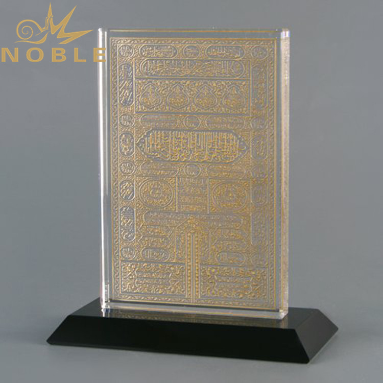 Noble High quality unique design crystal religious gifts custom crystal Kaaba door