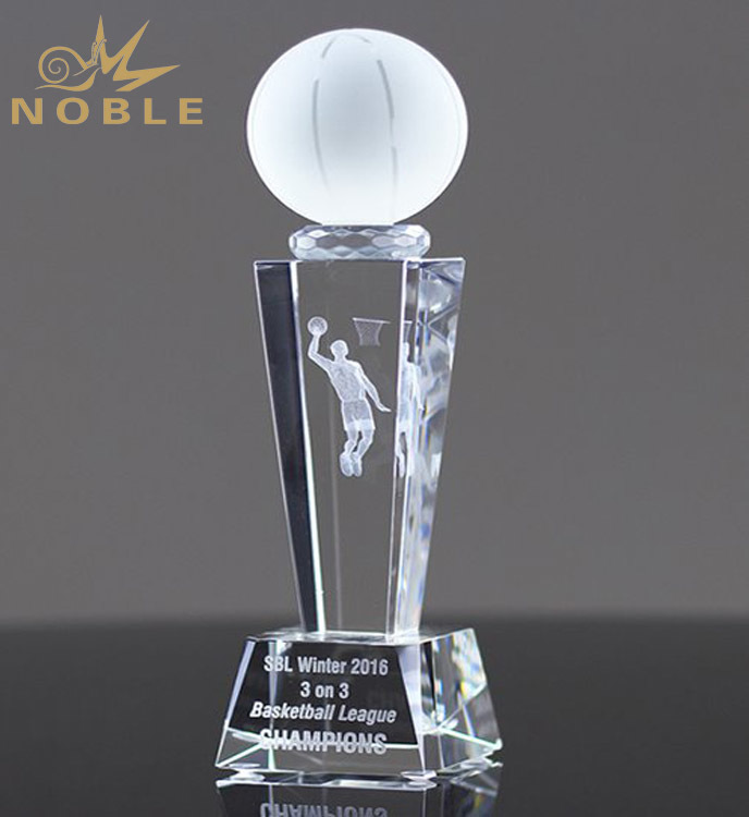 2019 New Products Ideas Factory Wholesale Golf Crystal Trophy