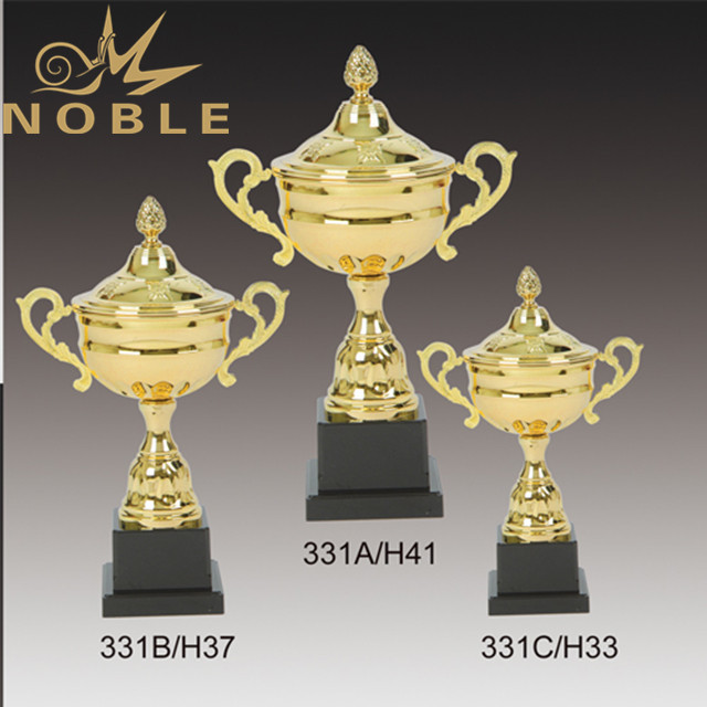 Custom Metal Cup Trophy With Black Base