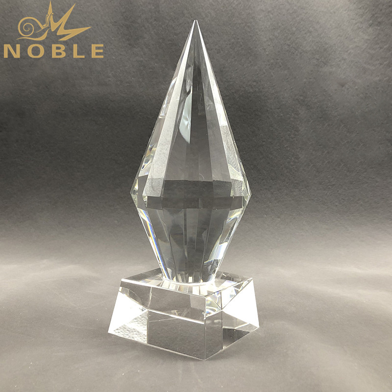 K9 Crystal Top Diamond Engraved Award Trophy Business Gift Custom