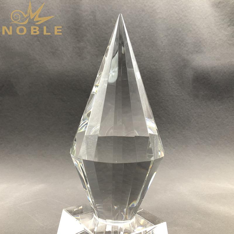 K9 Crystal Top Diamond Engraved Award Trophy Business Gift Custom