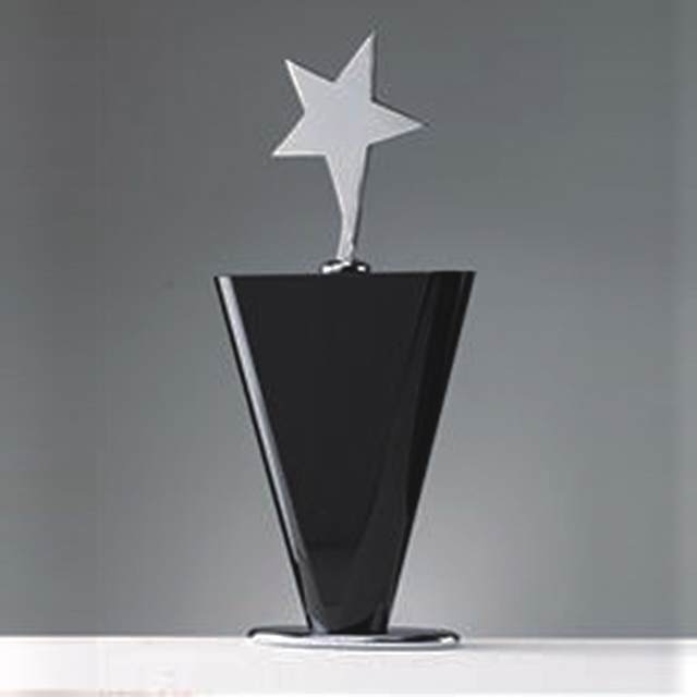 Custom Crystal Trophy Crystal Award Souvenir Gift Star Trophy
