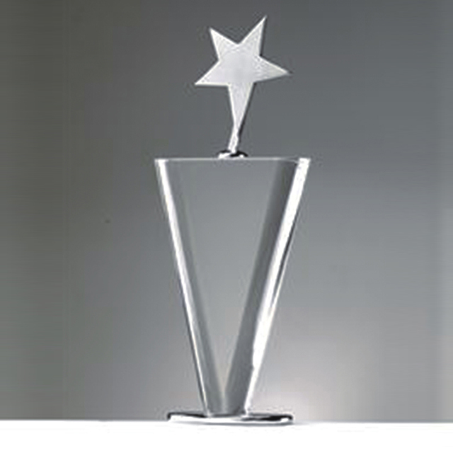 Noble Custom Crystal Trophy High Quality K9 Crystal Star Award