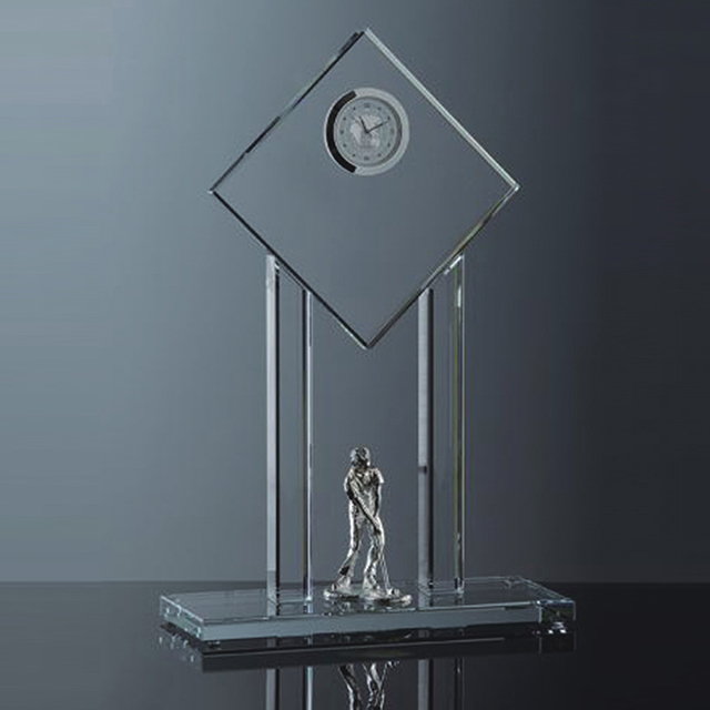 Hot selling customize crystal trophy for souvenir gifts