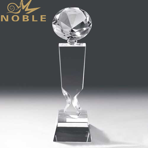 New Design Blank K9 Crystal Diamond Trophy Award for Business Gift