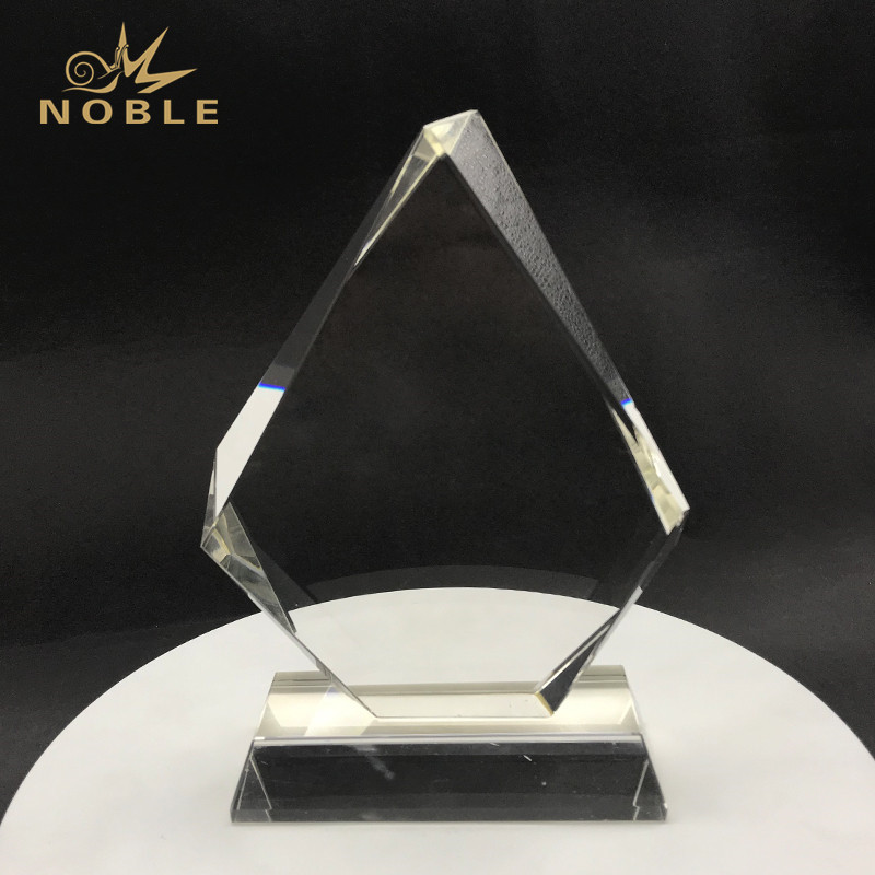 Crystal Diamond Tear Drop Trophy Award