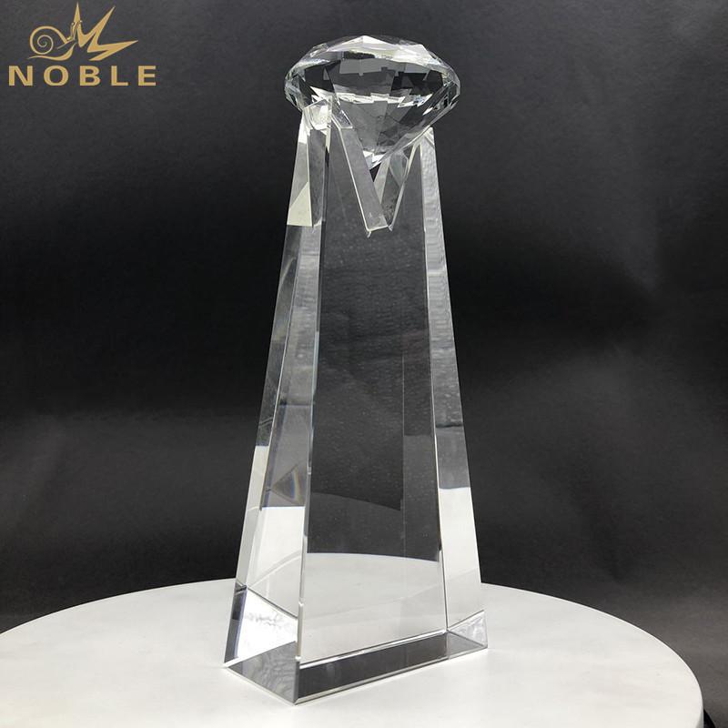 Top Diamond Crystal Trophy Awards for Custom Engraving