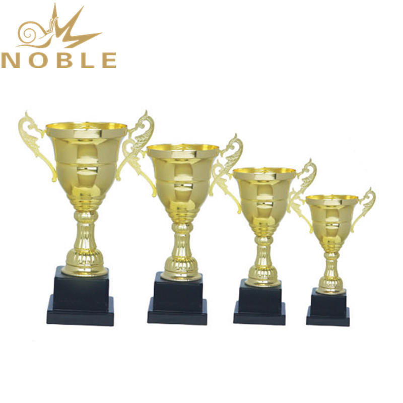 Unique design high quality sports champion metal trophy gold cup trophy