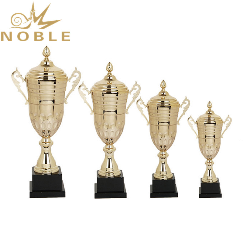 Best selling high quality gold metal cup trophy for sports championships