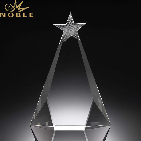 New Arrival Fashion Crystal Star Award Trophy For School Sports